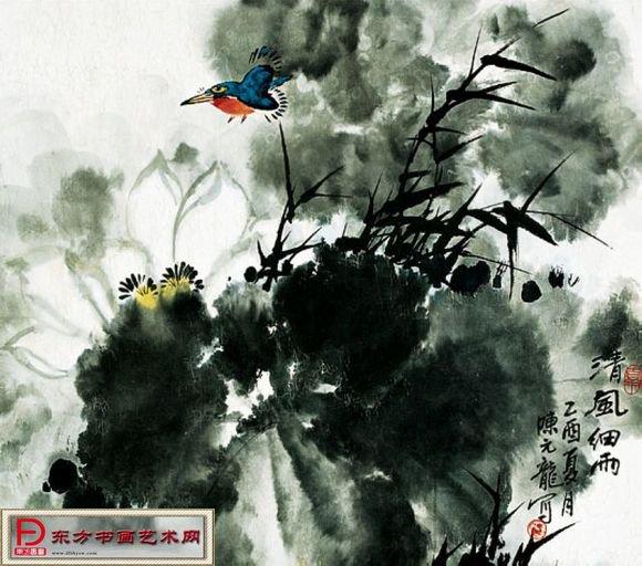 就明确提出想要请一位画松鼠的中国画家去